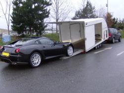 Ferrari 599 delivery